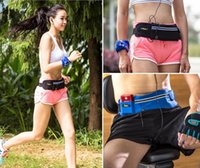 Wholesale 2016 Running Waist Bag Sports Fanny Pack for Iphone S Sumsuang Galaxy S6 Large Size Waterproof Multifunctional Wen