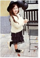 Wholesale Girls Outwear Solid Long Sleeve Star Sequins Sweater Autumn New Casual Warmth Top Outcoat Kids Clothes Colors B0997