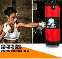 Wholesale Quality layer Adult DIY hanging BOXING BAG SET body fitness exercise MMA fight strength training punching sand bag empty