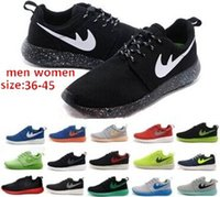 man and women - 2016 Breathable Spring Autumn New Fashion roshe men and Women running Shoes Size