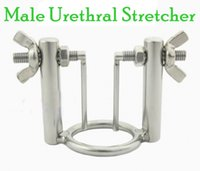 male urethral stretching - Latest Design Professional Adjustable Male Chastity Devices Stainless Steel Urethral Stretching GAY BDSM Fetish Urethral Toys