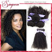 Cheap Malaysian Kinky Curly 2Bundles Curly Weave Human Hair Extensions Rosa Hair Products Malaysian Kinky Curly Virgin twist Hair bundle Weave