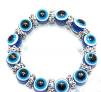 Wholesale Fashion Turkey Evil Eye Charms Bracelet Resins Plastics Charms Beads New Girls And Women Jewelry As Christmas Gifts For Boys And Men ZJ H08