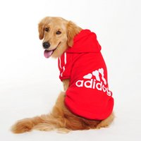 Wholesale New Dog clothes for dogs Large size winter autumn coat Big dogs Hoodie apparel Cotton Provide XL XL