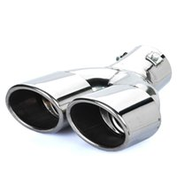 exhaust pipe for muffler - Stylish Stainless Steel Car Exhaust Pipe Muffler Tip Suitable for Emission