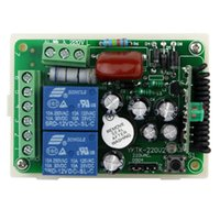 Wholesale New V Channel RF Wireless Remote Control Receiver Relay Module Switch MHz