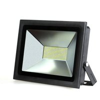 Wholesale Super Bright LED FloodLight W W W W Reflector Led Flood Light Spotlight V V Waterproof Outdoor Wall Lamp Garden Projectors
