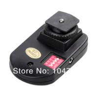 Wholesale 16 Channel flash trigger transmitter with Receivers for PT PT gy Wireless flash trigger