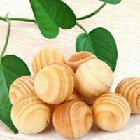 Wholesale 10 Pack Natural Cedar Wood Moth Balls Camphor Repellent Wardrobe Clothes Drawer