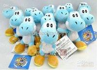 Wholesale Super Mario Bros Yoshi Plush Anime quot inch Keychain colors Plush doll