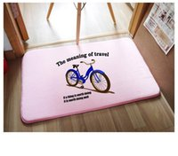 bathroom essentials - 10pcs carpets rugs New fall Korean style winter home essential doormat carpet mixed batch