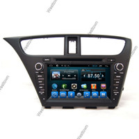 Hatch Back audio civic - Android car dvd player central multimedia built in radio audio stereo touchscreen fit for Honda Civic Hatch Back