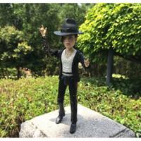 Fashion Figure michael jackson - Michael Jackson PVC Action Figure Collectible Toy Doll Christmas Gifts