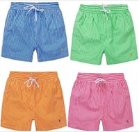 Wholesale Casual Men s PL Shorts Men Swimwear Board Shorts Summer Bran Beach Surf Shorts Men Sports Short Pants