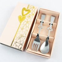 best business movie - Wedding Favors A couple of Spoon Fork Best Gifts for wedding business set