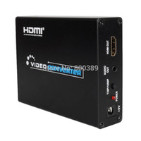 Wholesale Brand New SCART to HDMI Scaler Box Adapter P P Converter mm Audio Output
