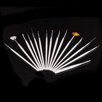 Wholesale It s hot Nail Art Gel Design Pen PaInting Polish Brush Dotting Drawing Tool Set