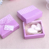 Cheap hot fashion new arrival 2015 fashion Romantic pink love together FOR YOU Scented guest Soap for wedding festival party Decoration