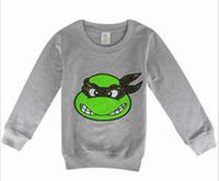 sweatshirts - Cartoon Children T Shirt Spring New Arrival Long Sleeve Kids Tee Shirts Batman Spiderman Superman Boys Girls T Shirt Sweatshirt TR138