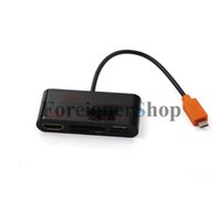 Wholesale HDTV SlimPort Adapter cable to HDMI OTG Card Reader For Smart Phone Tablet AP39