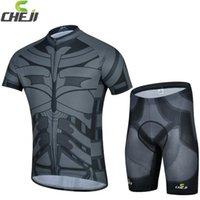 batman bike suit - 2015 New Arrival Batman Cycling Jersey Suit The Avengers Series Breathable Stylish Bicycle Bike Wear Shirt and Pants