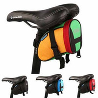 bicycle saddle fitting - Roswheel Outdoor Cycling Mountain Bike Bicycle Saddle Bag Back Seat Tail Pouch Package for iPhone S S Plus Samsung S5 S6 Note5