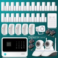 Wholesale 2 G WiFi Wireless GSM GPRS SMS Home Security Inturder Alarm System IP Camera
