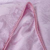 Venta al por mayor de alta calidad de 1,5 kg jacquard verano naturaleza pura seda edredón edredón de flores de color rosa tejidos de poliéster 180x220cm