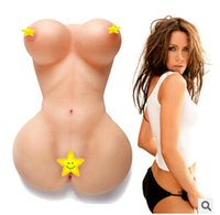 Cheap Hot Female Dolls Medical Silicone Pussy Vagina Male Masturbation Sex Toys Flesh Color Lady Beauty 100% Realistic Christmas Gift Love Toll