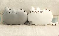 Cheap 40PCS Novelty Soft Plush Stuffed Animal Doll Talking Anime Toy Pusheen cat pillow for Girl Kid Cute Cushion brinquedos 40*30CM 201504LY