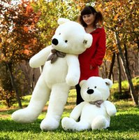 Wholesale The teddy bear Plush toy doll Big bear meters three color optional Stuffed Animals Toys Gifts