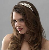 alloy deco zinc - Rhinestone Bride Headband Vintage bridal diamante headbands headpiece wedding Art Deco great gatsby