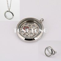 Wholesale 20mm mm mm mm magnetic closure silver L stainless steel floating locket plain face