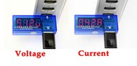 Wholesale Mini USB Voltage and Current Detector Mobile Power charger USB Tester Meter Voltage Current Measuring Instrument