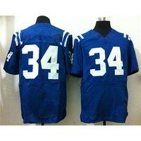 Cheap Cheap American Football Jerseys Royal Blue #34 Elite Football Jersey 2015 Super Bowl XLIX Mens Football Shirts Embroidered Jersey for Sale