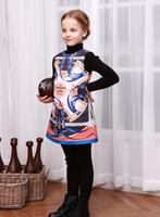 best sundress - Wl Monsoon Long Sleeve Dress Best Sale New Fashion Printed Sundress Children Clothing Autumn Dress
