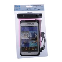 Wholesale Min order is mix order PVC Waterproof Phone Case Underwater Phone Bag Pouch Dry For jiayu g5s For Iphone S Samsung S2 S3 EC138