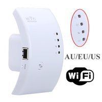 Wholesale Sale Wireless N Wifi Repeater B G N Router Range Expander Mbps dBi Antennas with Plug Computer Networking Accessories
