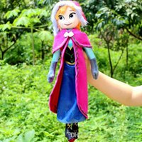 Wholesale High quality The Movie Frozen Plush Princess Elsa and Anna Plush Dolls Great Toys For Children birthday christmas gifts