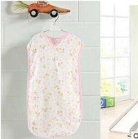 Cheap Wholesale-Baby long sleeping bag pajamas new fleece summer pajamas slumber sack 98cmx 41cm