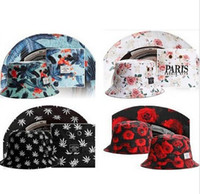 floral bucket hat - 2015 New brand bucket hats Fashion hot Cayler Sons Bucket Hat High Quality Hiphop Floral fishing sun Cap For Men and Women styles