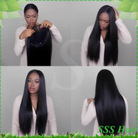 lace front wigs - 7A Full lace human hair wigs for black women Glueless full lace wigs Brazilian virgin hair straight human hair lace front wigs