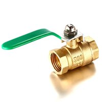 Wholesale Excellent Quality inch Threaded RP RB Ball Valve Female NPT Stainless Steel Vinyl Handle For Water Oil Gas BI068