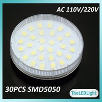 gx53 - 2PCS GX53 LED Lamp Epistar SMD Watt V V AC GX53 LED Cabinet Bulb