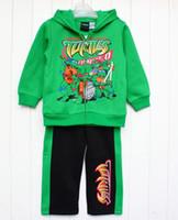 24 Months & Up jacket team - Winter set Hoodie jacket pants Teenage Mutant Ninja Turtles Little Boys Team Turtle Piece outfit Set