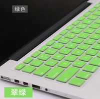 Wholesale New Arrival Laptop Keyboard Protective Skin Silicone USA Keyboard Protector for Macbook Air Pro quot quot quot Notebook Cover Color Free DHL