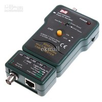 Wholesale Multi Network Cable Tester Meter RJ45 BNC Tests for Coaxial Cable MASTECH MS6810 O055