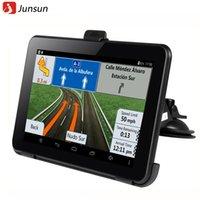 Cheap  Inch Car Gps Navigation Android  Allwinner A Wifi Fm Tablet Pc Truck Vehicle Gps Navigator Navitel   Europe Map Gb