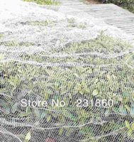 anti bird protection net - 1 pc Large Useful Long White Commercial Knitted Anti Bird Net For Home Garden Protection