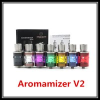 Cheap Replaceable Aromamizer V2 RDA Best 3.0ml Metal Aromamizer V2 RDA Tank